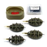 Carp Fishing Feeder Bait Plummet Explosive Hook Bait Thrower Supporting Device 15g 20g 25g 35g Lead