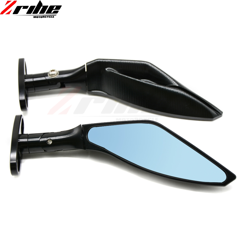 Black Rear View Mirrors Motorcycle For Honda CBR600RR CBR 600 RR 2003 2004 2005 2006 2007 2008 2009 2010 2011 CBR1000RR 04-07 19mm motorcycle cnc racing front fork preload adjusters green for honda cbr600rr 2007 2010 cbr1000rr 2008 2010 cb1000r 2008 2009