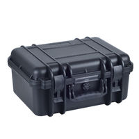 high quality waterproof shockproof hard plastic equipment case with full sponge