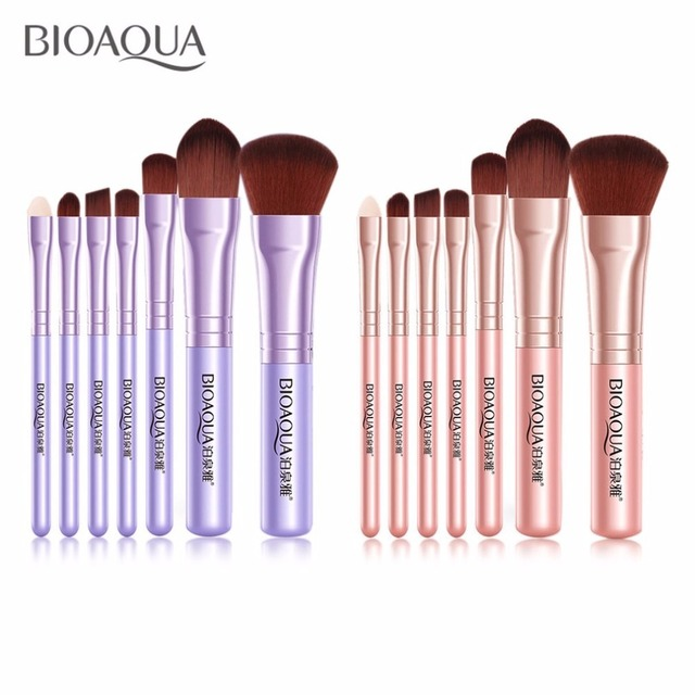 7PCS/SET Women Facial Makeup Brushes Set Face Cosmetic Beauty Eye Shadow Foundation Blush Brush Make Up Brush Tool 5