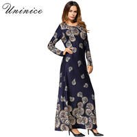 Muslim Maxi Dress Knitted Cotton Abaya Middle East Long Robe Gowns Moroccan Dubai Ramadan Arab Worship