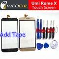 Umi Roma X touch screen + Conjunto de Ferramentas Presente 100% Original painel de Digitador de vidro Substituição Conjunto Da tela para telefone celular