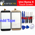 Umi Rome X touch screen + Tools Set Gift 100% Original Digitizer glass panel Assembly Replacement for cell phone