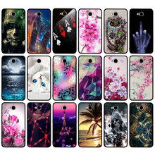 Coque souple en ptu pour Huawei Honor 4C Pro TIT-AL00 Y6 Pro TIT-L01 profitez de 5 Honor Holly 2 Plus housse de protection pour Huawei Honor Play 5X sac(China)