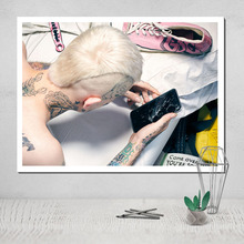 Lil Peep Wall Art Photo Canvas Poster The Paintings for Room Decoration on Tableau Decorative Pictures