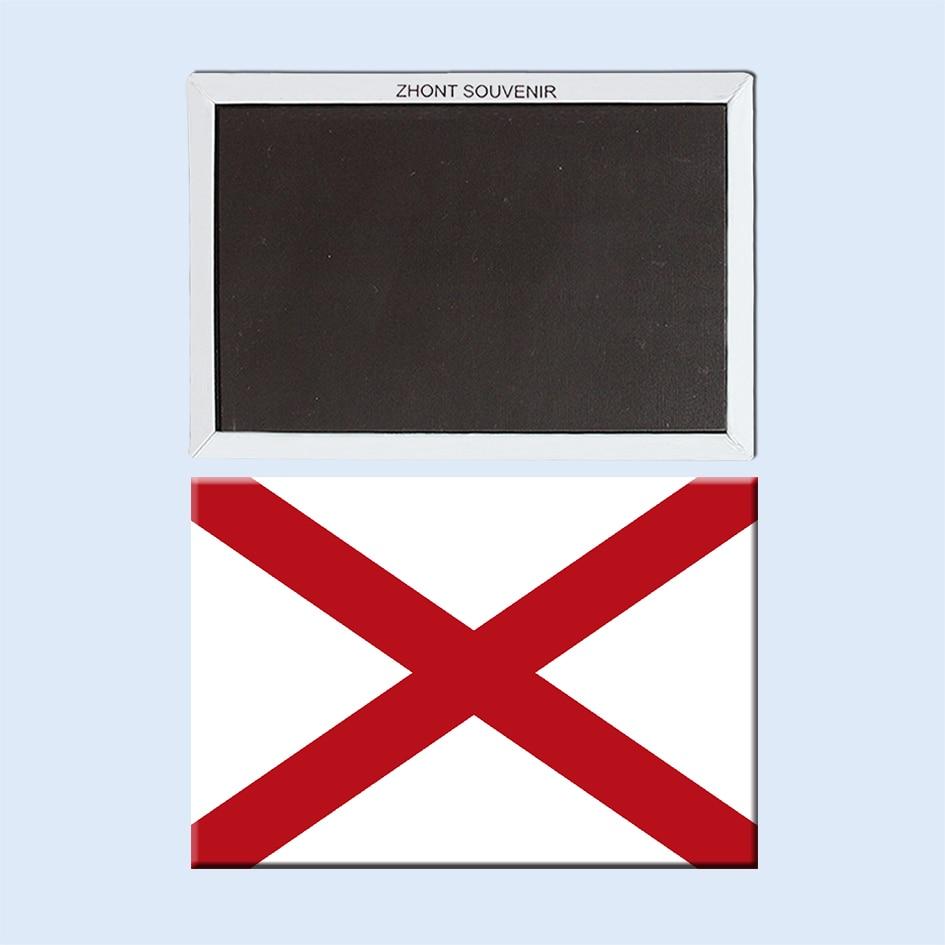 Home Decorateusa Symbolsheart Of Dixiealabama Flag Fridge Magnet
