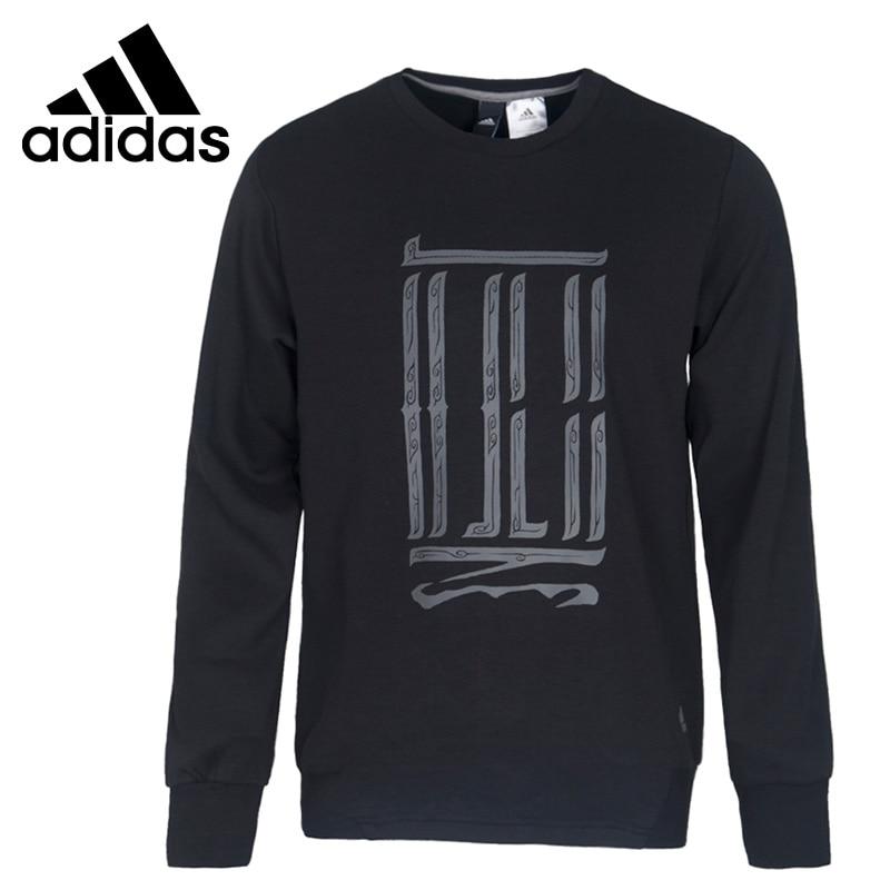 все цены на Original New Arrival Official Adidas WJ SWT GFX Men's Pullover Jerseys Sportswear