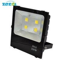 ZESOL 2pcs Refletor Led 200W Focos Led 220v Exterior Waterproof IP65 Led Flood Light Outdoor Lighitng lamp