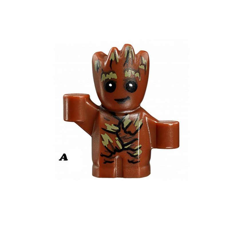 ขายเดียว Super Star Wars 8044 MINI Groot ชุดบล็อกอาคารรูปอิฐของเล่นเด็กของขวัญเข้ากันได้กับ Legoed Ninjaed
