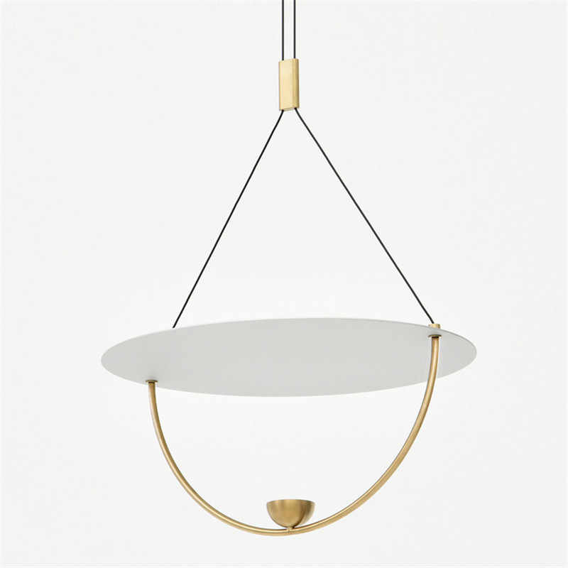 Modern LED Chandelier Metal Acrylic Chandelier Fixture For Bar Coffee Parlor Drawing Room Home Decor Chandelier Lighting B203