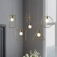 купить JAXLONG Modern Pendant Light for Coffee Shop Copper Fixtures Aisle Corridor Restaurant  Hanging Lamp Bar De Vintage Art Decor дешево