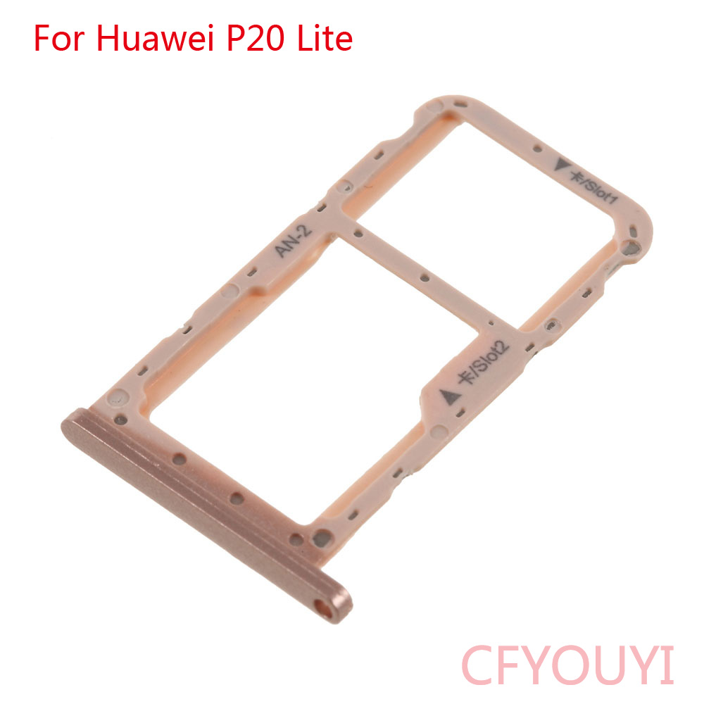 Huawei P20 Lite Sim Karte.Us 1 14 5 Off For Huawei P20 Lite Dual Sim Card Tray Micro Sd Card Holder Slot Adapter Replacement Parts In Mobile Phone Flex Cables From Cellphones