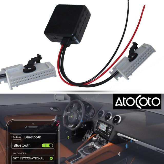 atocoto car bluetooth module for audi rns e navigation a8 tt r8 a3 rh aliexpress com Audi Navigation Audi A3