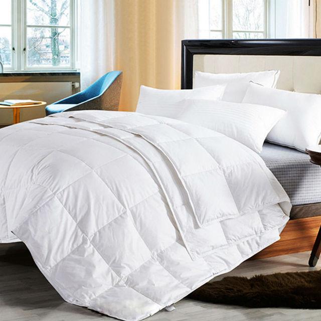 Peter Khanun Four Seasons Quillts White Duck Down Comforter/Duvet/Blanket  100% Cotton