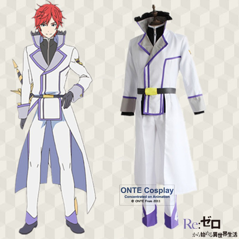 Re:Zero kara Hajimeru Isekai Seikatsu Reinhard Van Astrea Cosplay Costumes Anime Men Fancy Full Uniform