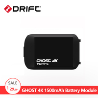 Drift Action Sport Camera Accessiores Extra 1500mAh Battery Module For Ghost 4k