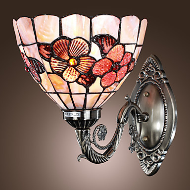 Tiffany Style Vintage LED Wall Lamp Lights With 1 Light For Livng Room Home Lighting Wall Sconce Free Shipping