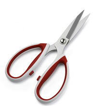 Top Quality Stainless Steel Sewing Scissors Plastic Strong Civilian Shears Cutter Embroidery Leather Fabric