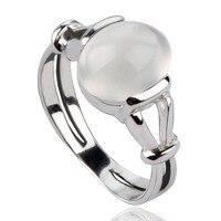 Twilight New Moon BELLA Natural Moonstone 925 Silver Ring Isabella Swan Cullen Vampire Girl Ring S925 jewelry moonstone ring