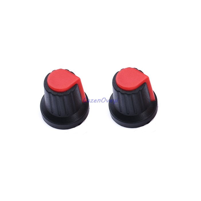 20pcs/lot WH148 Knob Knob Plastic Knob AG2 15X17mm Type Potentiometer Power Amplifier Knob In Stock