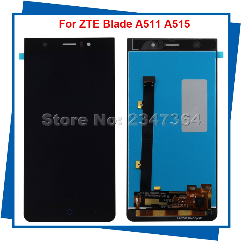 For ZTE Blade A515 Blade A511 LCD Display +Touch Screen assembly replacement for ZTE Smartphone Free tools zte blade a515 черный