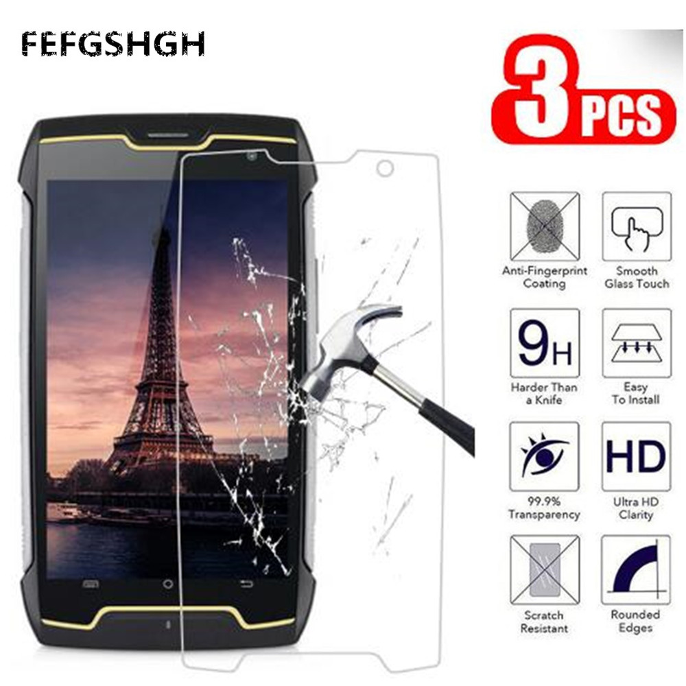 Phone Glass For Cubot H3 King Kong 3 Nova P20 Power R11 Note Plus Quest Lite Screen Protector Tempered Glass Explosion Proof(China)