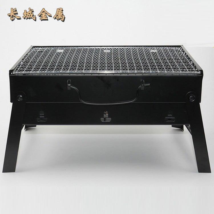 Barbecue Portable four à pizza barbecue en plein air barbecue au charbon de bois barbecue coréen mini plaque de barbecue barbecue gril pour l'extérieur