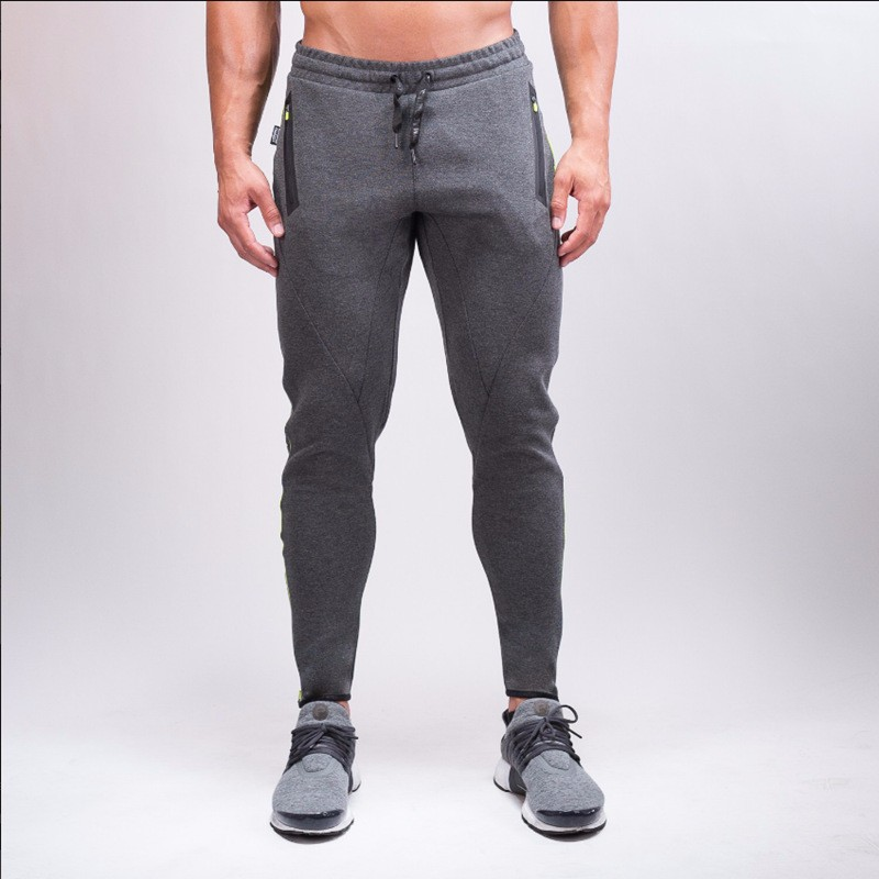 2017 High Quality Jogger Pants Men Fitness Bodybuilding Gyms Pants For Runners Clothing Autumn Sweat Trousers Britches