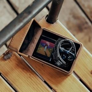 Image 2 - SHANLING C2 Handmade Custom Leather Storage Box for ME100 Earphones Portable Pressure Box