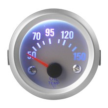2 Inch 52 мм Универсальная Автомобильная Аналоговый Температура Масла Датчик Температуры 50-150C Светодиодные Ленты Лицо