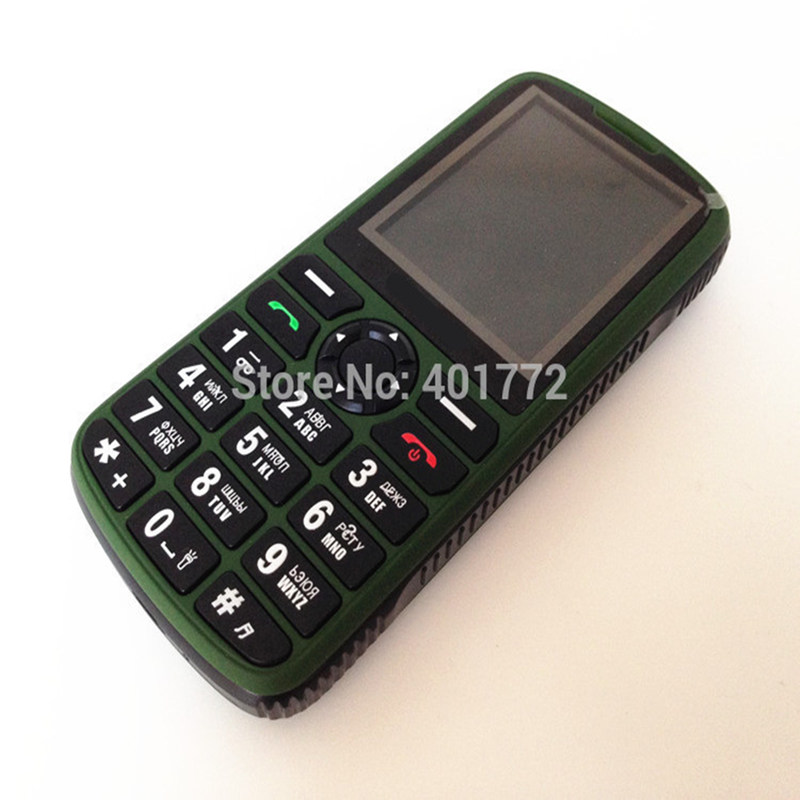 2016 new Russian Keyboard Old Man Mobile Phone Original Dual Sim Outside FM Radio Torch cell