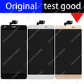 5.5 inch black white gold 100% original lcd display + touch screen assembly TP  for oukitel k6000 Glass Panel Digitizer