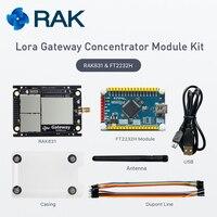 Q162 Lora Gateway Concentrator Module Kit RAK831 LoRaWan Module Base On SX1301 Wireless Spread Spectrum Transmission
