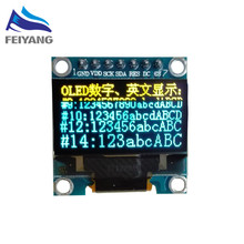 C21 1pcs SAMIORE ROBOT 7 Pin-0.96″Yellow Blue New 128X64 OLED LCD LED Display Module 0.96″ SPI Communicate