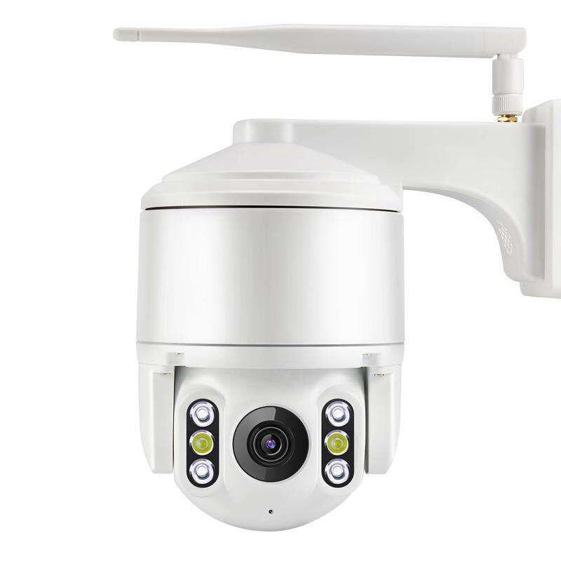 Caméra IP de vidéosurveillance 1080 P étanche extérieure Surveillance WIFI Mini caméra PTZ couleur Vision nocturne détection de visage suivi automatique Onvif