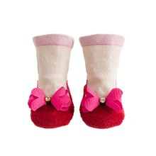 Winter baby socks anti slip Cartoon Newborn Girls Boys Thicken Anti-Slip Socks Slipper Shoes Boots Sock Cotton baby floor socks