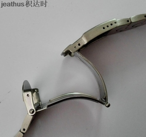 Image 4 - Jeathus watchbands replacement for swatch steel belt ycs410gx 438 511 19mm stainless steel strap irony man bracelet watch band