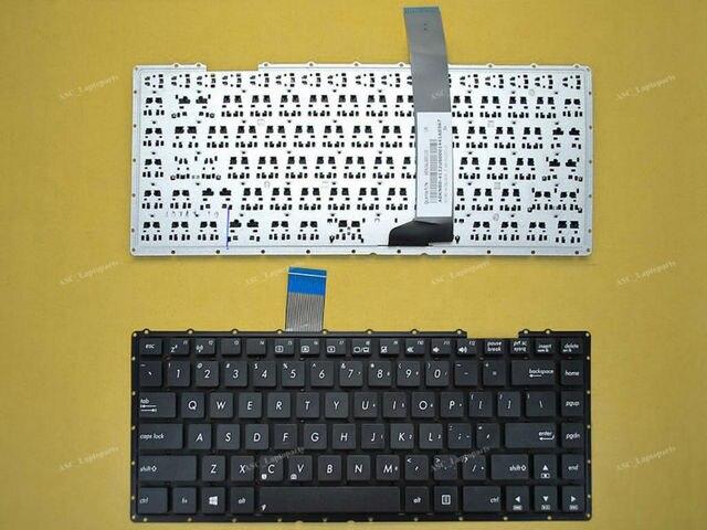 New eua inglês teclado para asus d452c d452cp d452e d452ea d452ep d452m d452md d452v blacklaptop sem moldura sem película