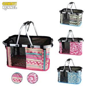 CAWAYI KENNEL Pet Carriers Carrying for small cats dogs Handbag dog transport bag Basket bolso perro torba dla psa honden tassen