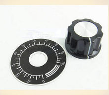 Rotary Potenciômetro mostrador digital + MFA03 botão Interruptor para WTH118 WX110 WX112 RV24YN 10 PCS