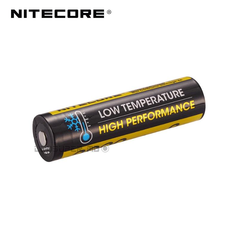 Hot Sale Nitecore NL1829LTHP 2900mAh 8A Low Temperature High Performance Li-ion Battery For Freezing Environments