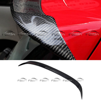 OSIR Style Car Styling Real Carbon Fiber Heckspoiler Rear Wing Spoiler for Golf 6 R20 G T I
