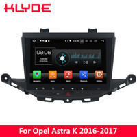 KLYDE 9 IPS 4G WIFI Octa Core PX5 Android 8.0 4GB RAM 32GB ROM BT FM Car DVD Multimedia Player Radio For Opel Astra K 2016 2017