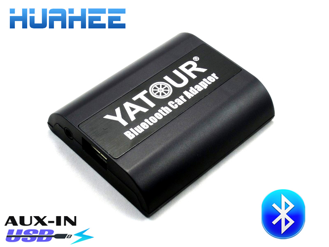 Yatour Bluetooth Car Adapter For Pin VW Fox Golf Polo AudiHands - Audi car charger