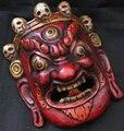 Тибетские деревянные поделки  домашняя декоративная маска  народное искусство