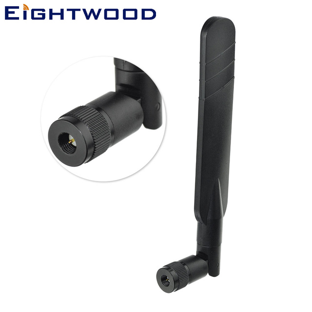 Eightwood 5dBi 868MHz 915MHz 2.4GHz LoRa Z-Wave Zigbee Smart Home Omni Directional Antenna SMA Male Connector