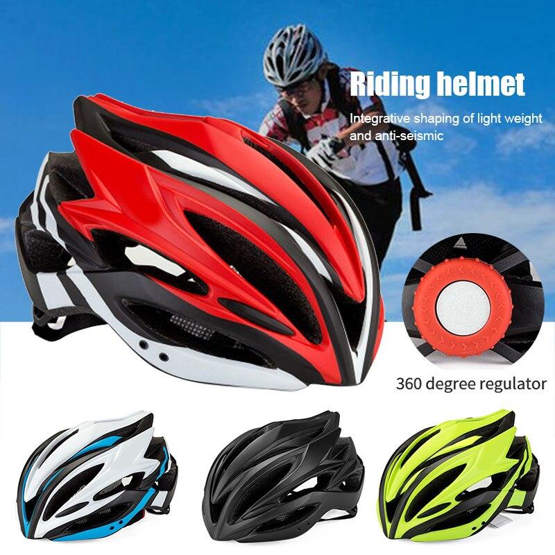 Adult Cycling Motorcycle Helmet Safety Shockproof Riding MTB Bike Bicycle Helmet