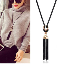 2019 New Arrival Female Pendant Necklace Tassel Long Winter Sweater Ch