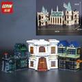 IN STOCK LEPIN 16030 1340pcs 16012 2025pcs 16060 6742Pcs Movie Series The Hogwarts Castle Set Building Blocks Bricks 4842 71043