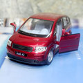 Brand New KINGSMART 1/30 Scale Car Model Toys AUDI A2 Diecast Metal Pull Back Car Toy For Gift/Collection/Kids -Free Shipping